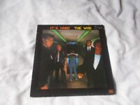 Vinyl LP It's Hard The Who Polydor WHOD 50666 Stereo