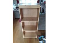 Pine Effect Bookcase (slightly yellower than appears in picture)