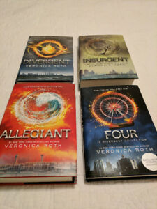 Hardcover Collection ~ Veronica Roth ~ Divergent Series