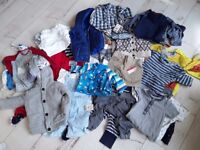 Boys 12-18mths mixed clothes next/H&M/mothercare/goerge/TU/boots