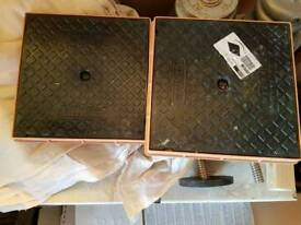 250mm inspection chamber lids