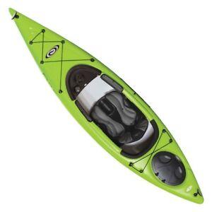 Pelican Elie Sound 120 kayaks on Sale! Green and orange left