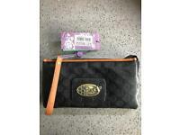 Nica Linda black clutch bag