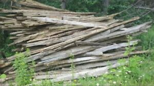 Looking for cedar rails in good condition