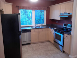 SEPT. 1, MacEwan U: 1BR furn. apt w/ ensuite laundry near 124 St