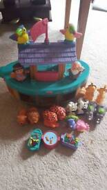 Fisher price little people ark. Fabulous condition. Comes with its box. Smoke free home