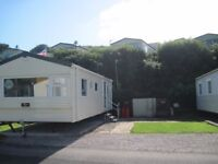 Only two years old! Immaculate! Ready to move in! Static caravan holiday home for sale in Devon.