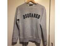 Dsquared grey jumper 14 years