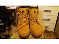 Amblers Safety Boots - Honey