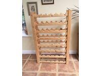 Large Pine wine rack