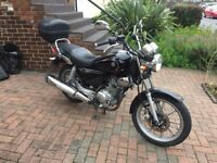 Yamaha ybr 125 custom LOW MILEAGE