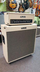 Roland Blues Cube Tour Amp head and 100w 4x10 Speaker Cab, used