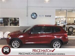 2014 BMW X3 NAVIGATION, LOW KMS, AWD