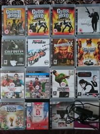 Sony PlayStation 3 / PS3 Video Game Collection: Includes Eye Toy Camera