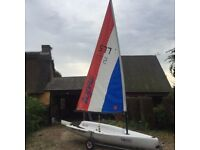 Topper Topaz Sailing Dinghy