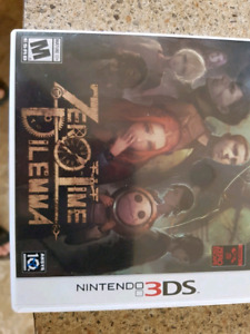 Zero time dilemma for 3ds up for trade