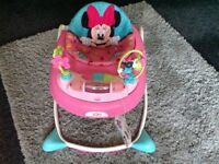 Minnie Mouse Bright Starts Baby Walker