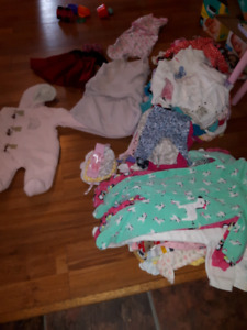 Large 3-6 month girls lot