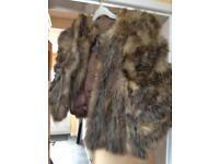 Vintage-1940's real fox fur