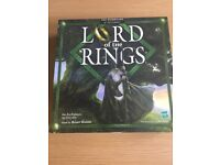 Lord of the rings board game, hasbro, very good condition, only played once
