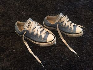 Baby Blue All Star Converse
