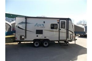 2016 FOREST RIVER COACHMEN APEX NANO 17X HYBRID HYBRID