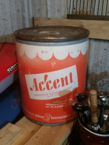 Empty 100lb accent tub