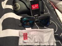 Ray Ban 'Justin' RB4165 622-55 'Blue Mirror'