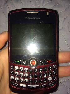 Two blackberry phones