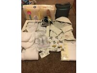 Brand new with tags baby clothes and items