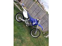 Yamaha yz 250 road registered