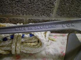 genuine 25lb cqr anchor made in scotland