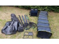 Fishing gear full set up match tackle