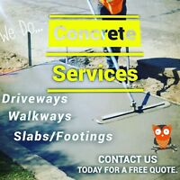Affordable concrete service's
