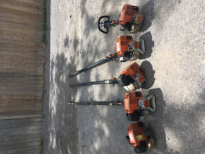 Stihl chainsaws, trimmers, blowers