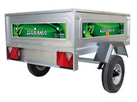 Erde trailer. Daxara 127.2. Ideal for camping. As new with spare wheel, cover and wheel clamp.
