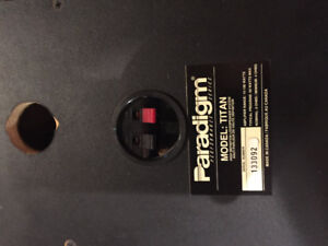 Paradigm Titan Speakers (Need repair)
