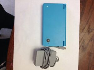 Blue DSi With Charger