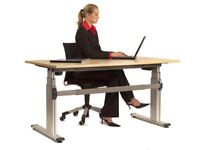 ERGONOMIC SIT OR STAND DESK