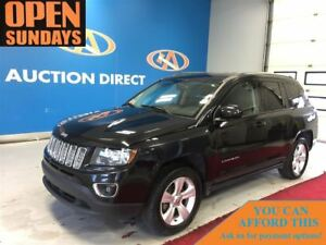 2015 Jeep Compass LEATHER! SUNROOF! 4X4! FINANCE NOW!