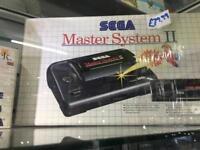 Sega Master System II Retro Gaming Console Boxed