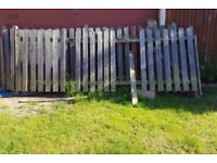 Picket (Playhouse) Fence + Gate 24 x 4ft
