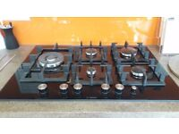 Bosch PPS816M91E Gas Hob on Glass