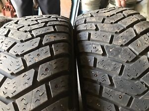 4 studded Goodyear Ultra Grip tires