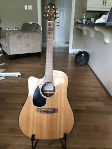 Takamine Acoustic/Electric Guitar - Left Handed