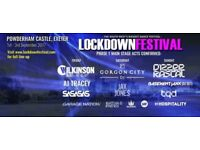 LOCKDOWN 2017 FESTIVAL TICKET CHEAP