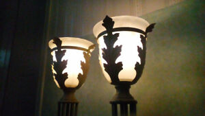Set of 2 New Chalice Lamps
