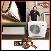 Ductless Heat Pumps Starting at $50/Month
