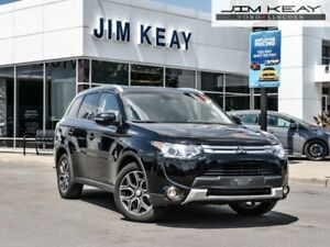 2015 Mitsubishi Outlander GT  - Leather Seats -  Bluetooth - $93