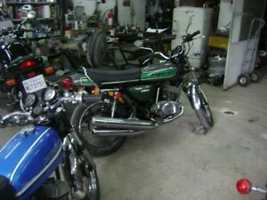 Kawasaki triple parts or parts bikes
